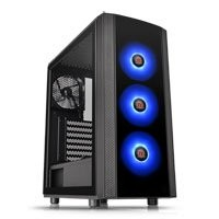 Save £6 at Scan on ThermalTake Versa J25 RGB Edition, Mid Tower Chassis, with Glass Side Window, ATX, MicroATX, Mini-ITX, 3x120mm RGB Fans
