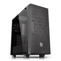 Save £10 at Scan on ThermalTake Core G21 Tempered Glass Edition, Black, Mid Tower Chassis, Window, ATX/MicroATX/Mini-ITX