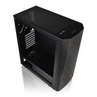 Save £6 at Scan on ThermalTake Versa J24, Mid Tower Chassis Tempered Glass Window, ATX, MicroATX, Mini-ITX, 1x120mm Fan, USB 3.0 x 2