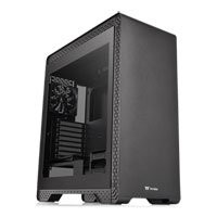 Save £10 at Scan on Thermaltake S500 Midi Chassis, Tempered Glass, 120mm + 140mm Fans, USB 3.0, ATX/MicroATX/Mini-ITX