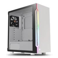 Save £6 at Scan on Thermaltake H200 Snow Midi Chassis, Tempered Glass, RGB, 120mm Fan, USB 3.0, ATX/MicroATX/Mini-ITX