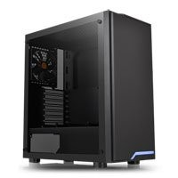 Save £5 at Scan on Thermaltake H100 Midi Chassis, Tempered Glass, 120mm Fan, USB 3.0, ATX/MicroATX/Mini-ITX