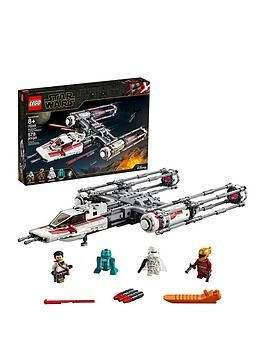 Save £4 at Very on Lego Star Wars 75249 Resistance Y-Wing Starfighter Battle Starship