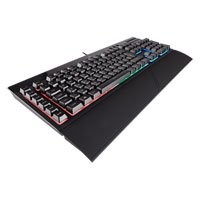 Save £10 at Scan on Corsair Gaming K55 RGB Keyboard, RGB Back-Lit Keys, Wired, USB 2.0, Anti-Ghosting, 8 Key Rollover, 6 Macro Keys, Black