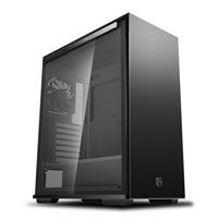 Save £11 at Scan on DEEPCOOL MACUBE 310, Black, Mid Tower Chassis w/ Tempered Glass Window, 120mm Fan, USB 3.0, ATX/MicroATX/Mini-ITX