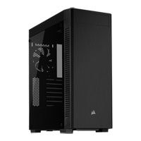 Save £8 at Scan on Corsair 110R, Black, Mid Tower w/ Tempered Glass Window, 120mm Fan, USB 3.0, ATX/MicroATX/Mini-ITX