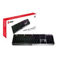 Save £15 at Scan on MSI Vigor GK50 LP Mechanical Gaming Keyboard, Kailh Switches, RGB Backlighting, Anti-Ghosting, N-Key Rollover, USB