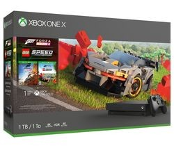 Save £150 at Currys on MICROSOFT Xbox One X with Forza Horizon 4 & LEGO Speed Champions