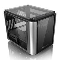 Save £20 at Scan on Thermaltake Level 20 VT Cube micro-ATX/ITX, Black, USB 3.0 x 2,USB 2.0 x 2, 4mm Tempered Glass Panels x 4