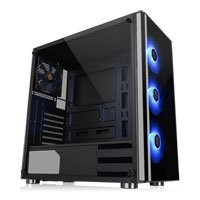 Save £15 at Scan on Thermaltake V200 RGB Mid Tower Computer Chassis, Tempered Glass, 4x 120mm Fan, USB 3.0, ATX/MicroATX/Mini-ITX