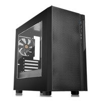 Save £10 at Scan on Thermaltake Versa H18 Black micro-ATX Chassis with Window, MicroATX/Mini-ITX, 120mm Fan, 2x USB 2.0, USB 3.0