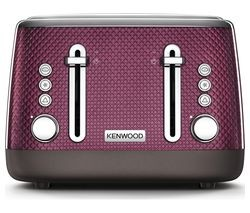 Save £40 at Currys on KENWOOD Mesmerine TFM810PU 4-Slice Toaster - Rich Plum