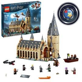 Save £30 at Argos on LEGO Harry Potter Hogwarts Great Hall Toy - 75954