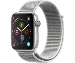 Save £30 at Currys on APPLE Watch Series 4 - Silver & Seashell Sports Loop, 44 mm