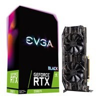 Save £276 at Scan on EVGA GeForce RTX 2080 Ti BLACK EDITION 11GB GDDR6 Ray-Tracing Graphics Card, 4352 Core, 1350MHz GPU, 1545MHz Boost