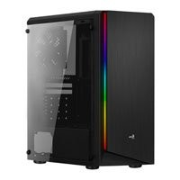 Save £5 at Scan on Aerocool Rift Mid Tower Chassis, Windowed, RGB, 120mm Fan, USB 3.0, ATX/MicroATX/Mini-ITX
