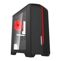 Save £3 at Scan on GameMax Centauri, Black/ Red, MicroATX Computer Chassis, with Window, MicroATX/Mini-ITX, 2x120mm Red LEDs Fans, USB3.0