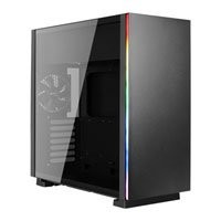 Save £10 at Scan on Aerocool Glo RGB Mid Tower, Tempered Glass, 1x 120mm Fans, Water Cooling Support, USB 3.0, ATX/MicroATX/Mini-ITX