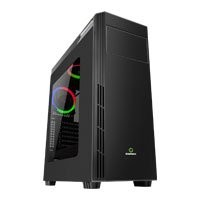 Save £4 at Scan on Game Max Graphite RGB Chassis, Acrylic Window, 2x120mm Fans Included, Radiator Support, ATX/MicroATX/MiniITX, USB 3.0