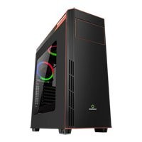 Save £5 at Scan on GameMax Gamboge RGB Chassis, Acrylic Window, 2x120mm Fans Included, Radiator Support, ATX/MicroATX/MiniITX, USB 3.0