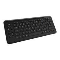 Save £4 at Scan on CiT WK-838 Premium Mini Multimedia Keyboard, USB 2.0, Black, with 9 Dedicated Media Keys, for Windows/Mac/Linux/Android