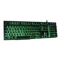 Save £7 at Scan on RGB Wired Gaming Keyboard, 7 Colour Back-Lit Keys, USB 2.0, Black, for Windows/Mac/Linux/Android