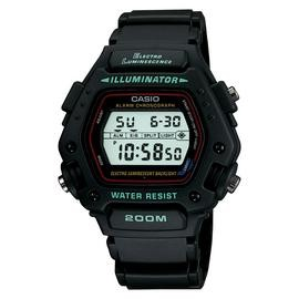 Save £13 at Argos on Casio Men's Black Resin Strap Electro Luminenscence Watch