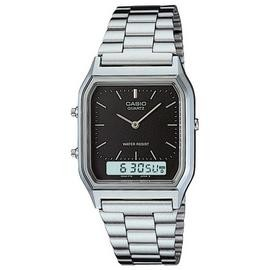 Save £7 at Argos on Casio Silver Stainless Steel Bracelet Dual Time Watch