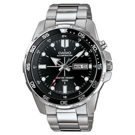 Save £15 at Argos on Casio Men's Stainless Steel Rotating Bezel Backlight Watch