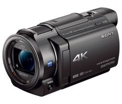 Save £150 at Currys on SONY Handycam FDR-AX33 4K Ultra HD Camcorder - Black