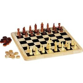 Save £2 at Argos on Chad Valley Wooden Chess and Draughts Board Game