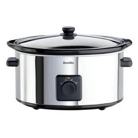 Save £5 at Argos on Breville 5.5L Slow Cooker - Stainless Steel