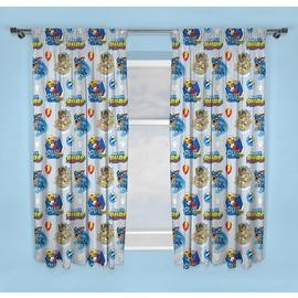 Save £5 at Argos on PAW Patrol Mighty Pups Unlined Pencil Pleat Curtains