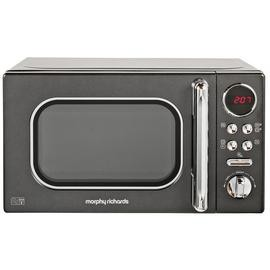 Save £10 at Argos on Morphy Richards Evoke Black Microwave 20L Solo 800w 511500
