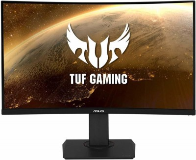 Save £63 at Ebuyer on ASUS TUF VG32VQ 31.5 WQHD Curved 144Hz HDR Adaptive-Sync LCD Gaming Monitor