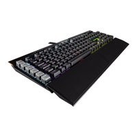 Save £30 at Scan on Corsair Gaming K95 RGB Platinum Keyboard, RGB Keys+Bar, Cherry MX Speed Mechanical, Wired, USB, FPS/MOBA Caps