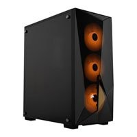 Save £10 at Scan on Corsair Carbide Series SPEC-DELTA RGB Mid Tower PC Case, w/ Tempered Glass Windows, ATX/mATX/mITX, 3x 120mm RGB Fans