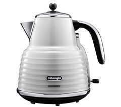 Save £25 at Currys on DELONGHI Scultura KBZ3001W Jug Kettle - White