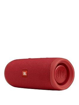 Save £19 at Very on Jbl Flip 5 Bluetooth Wireless Speaker - Red