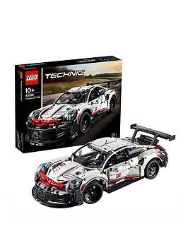 Save £12 at Very on Lego Technic 42096 Preliminary Gt Race Car