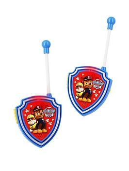 Save £2 at Very on Paw Patrol Walkie Talkie