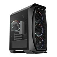 Save £8 at Scan on Aerocool Mini Aero One Eclipse, Black, Mini Tower w/ Tempered Glass Window, 4x 120mm RGB Fans, USB3.0, MicroATX/Mini-ITX