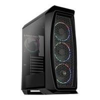 Save £11 at Scan on Aerocool Aero One Eclipse, Black, Mid Tower, Tempered Glass Window, 4x 120mm aRGB Fans, USB 3.2, ATX/Micro-ATX/Mini-ITX