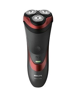 Save £59 at Very on Philips Series 3000 Wet  Dry MenS Electric Shaver With Pop-Up Trimmer - S3580/06