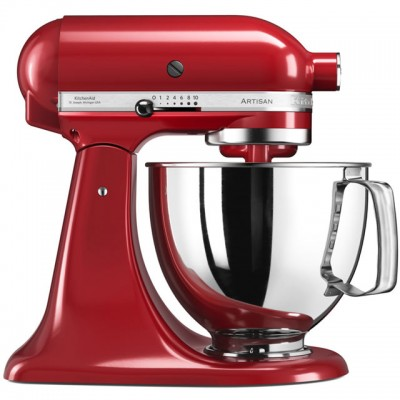 Save £50 at AO on KitchenAid Artisan 5KSM175PSBER Stand Mixer with 4.8 Litre Bowl - Empire Red