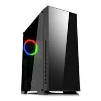 Save £6 at Scan on GameMax Hush Silent Chassis, Tempered Glass, 120mm RGB Fan Included, Radiator Support, ATX/MicroATX/MiniITX, USB 3.0