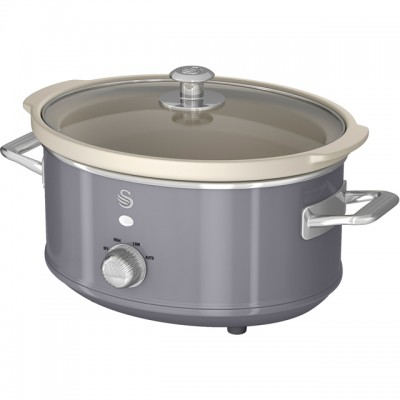 Save £9 at AO on Swan Retro SF17021GRN 3.5 Litre Slow Cooker - Grey