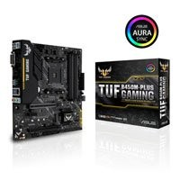 Save £11 at Scan on ASUS TUF B450M-PLUS GAMING, AMD B450, S AM4, DDR4, SATA3, M.2, 2-Way CrossFire, Realtek GbE, USB 3.1 G2 A+G1 C, MicroATX