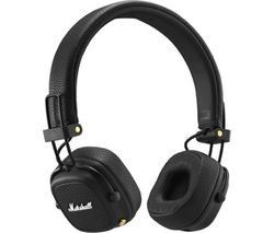 Save £30 at Currys on MARSHALL Major III Wireless Bluetooth Headphones - Black