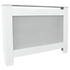 Save £15 at Argos on Argos Home Odell Small Radiator Cover - White